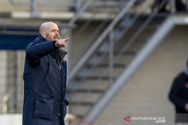 Erik ten Hag syukuri poin-poin mahal  dikantongi Ajax
