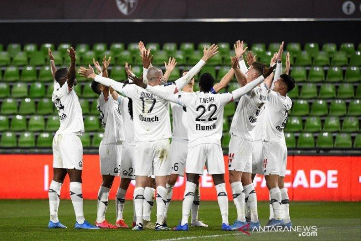 Klasemen Liga Prancis: Lille pimpin papan atas klasemen