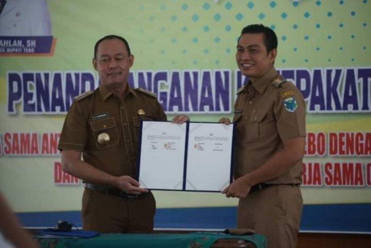 Pemkab Batanghari teken MoU dengan Tebo
