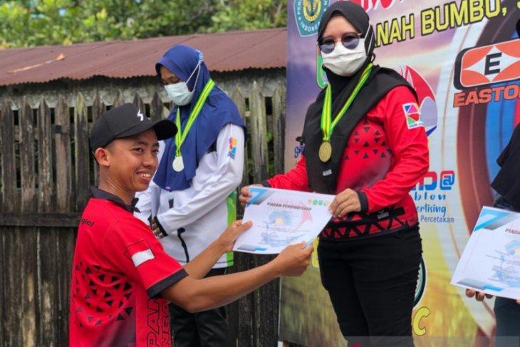 Perpani Balangan sabet 9 medali pada event di Tanah Bumbu