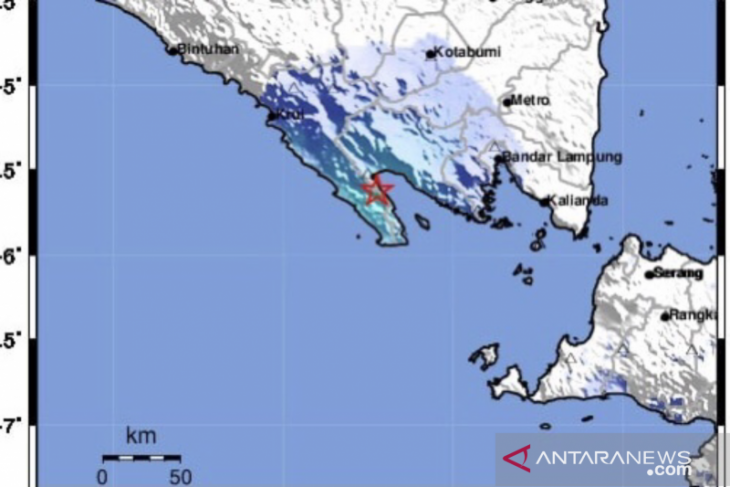 BMKG sebut gempa Lampung akibat subduksi dan tak berpotensi tsunami