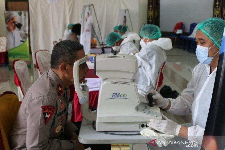 Bidokes Polda Maluku lakukan pemeriksaan kesehatan berkala pejabat utama
