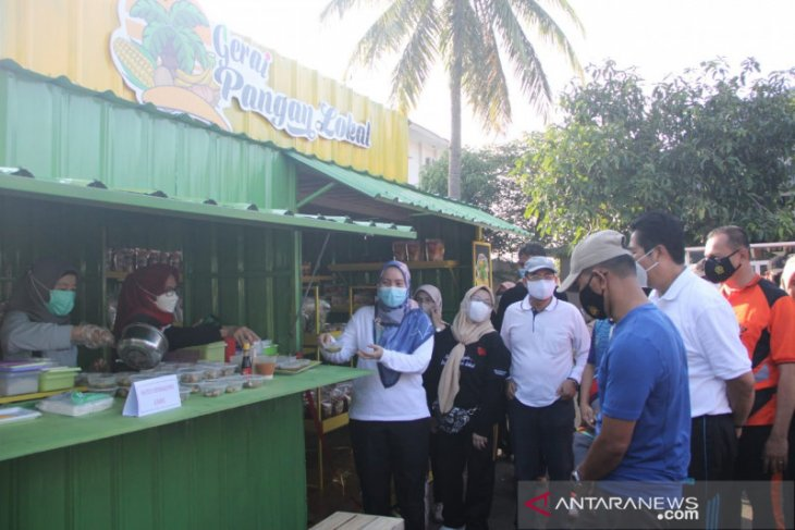 Pemprov Bengkulu resmikan gerai pangan lokal bagi UMKM