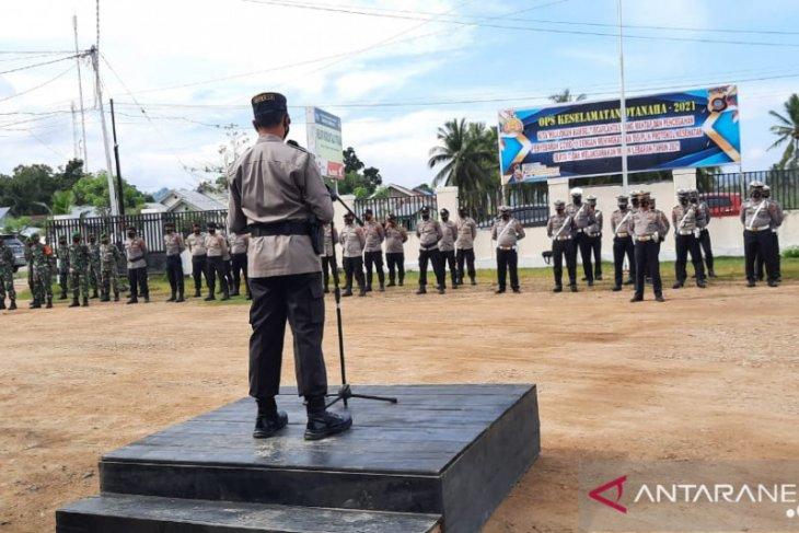 Awal Ramadhan, Polres Gorut gelar Operasi Keselamatan Otanaha 2021