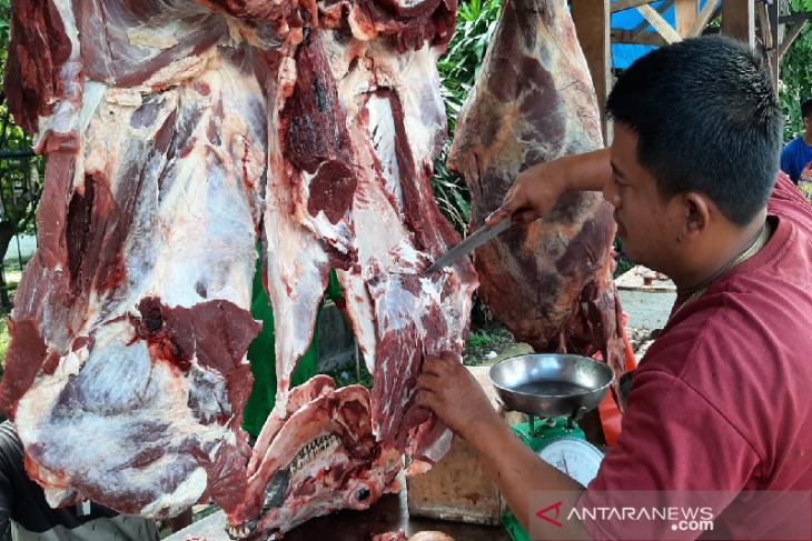 Tradisi meugang Ramadhan, harga daging naik di Aceh