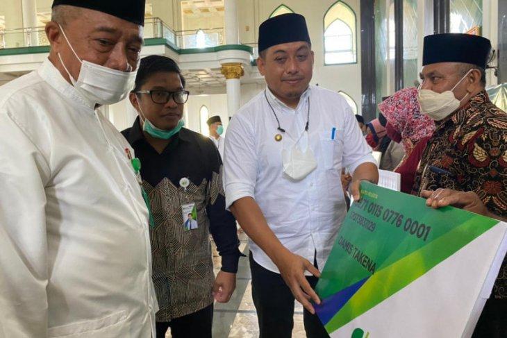 Sinergi dengan Baznas Ternate Imam dan Badan Syara MasjidMushalla Terlindungi BPJS Ketenagakerjaan