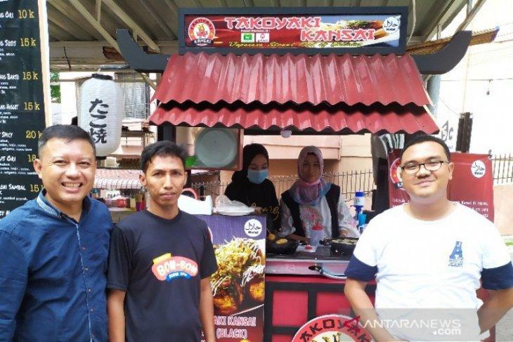 Takoyaki Kansai buka gerai di Pematangsiantar