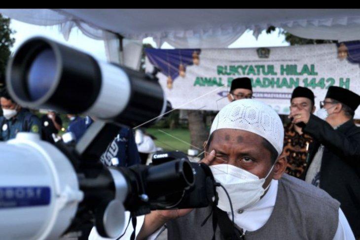 Pemantauan hilal Ramadhan di Kuta