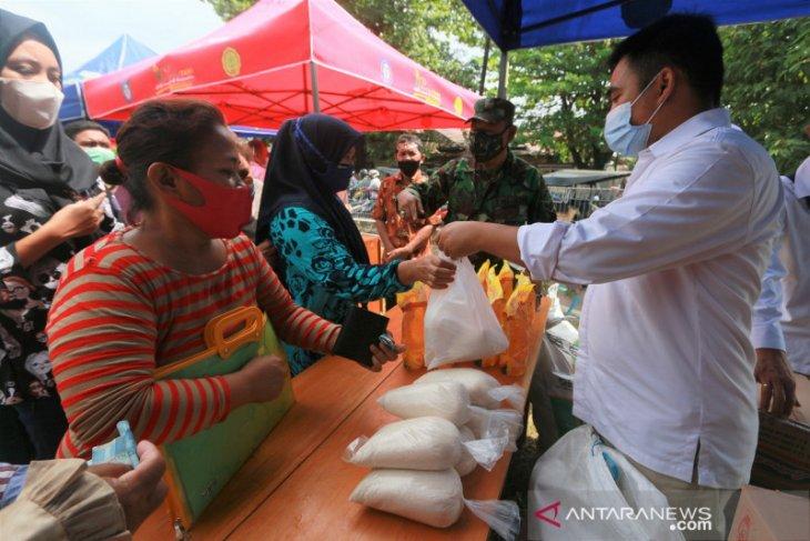Bulog dukung pasar murah Pemprov Gorontalo untuk menyambut Ramadhan