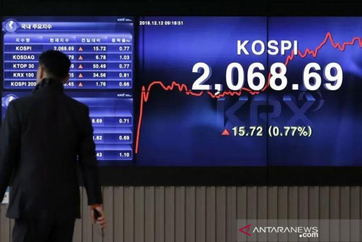 Saham Korsel Selasa pagi naik ditopang aksi beli asing, data inflasi AS jadi fokus