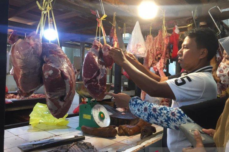 Jelang Ramadan harga daging sapi di Pontianak stabil