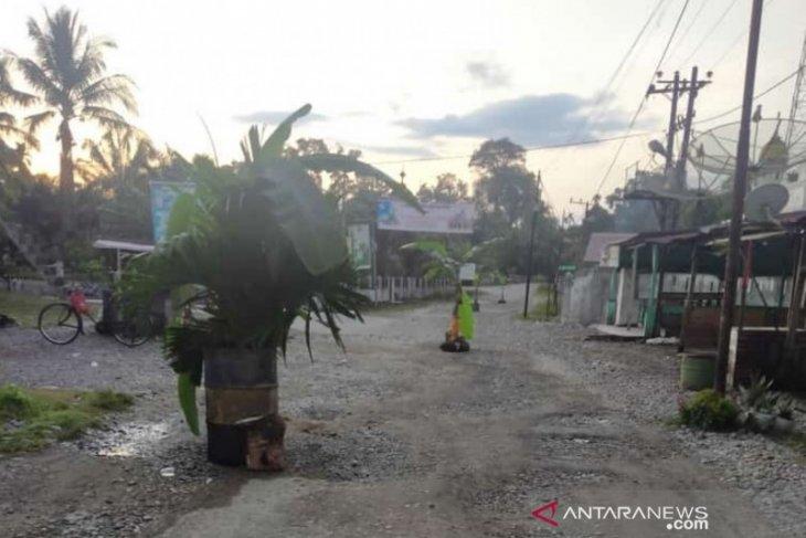 Jalan ditanam pohon pisang, Kadis PUPR janji bakal perbaiki akhir tahun