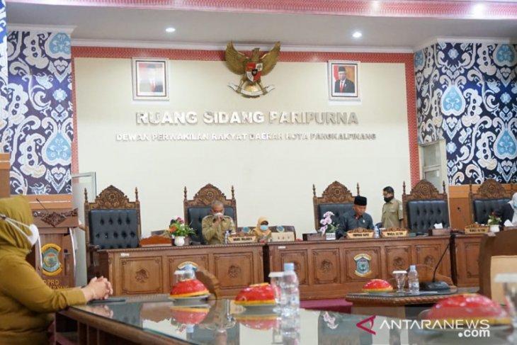 DPRD Pangkalpinang gelar Paripurna terkait tanggapan walikota atas tiga raperda