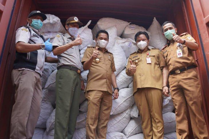 10 ton porang chips asal Balangan berlabuh ke Jepang