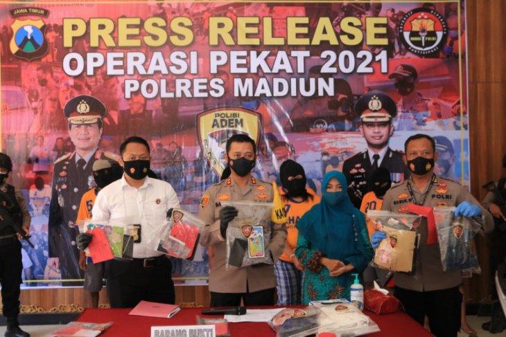 Polres Madiun ungkap tujuh kasus selama Operasi Pekat Semeru 2021