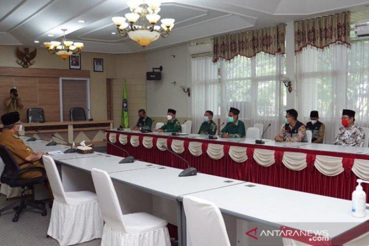 Jalin sinergi, Bupati HSS terima audiensi Pengurus Muhammadiyah