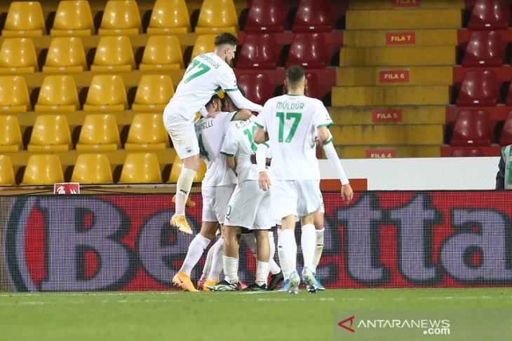 Liga Italia: Menang di Benevento, Sassuolo dekati lagi zona Eropa