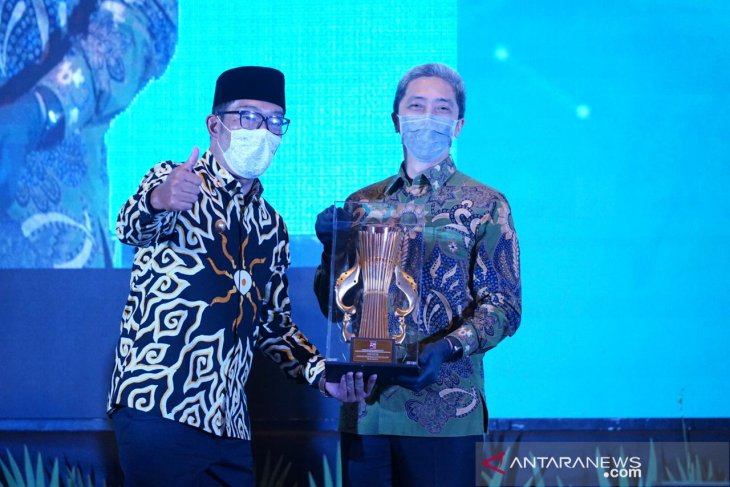 Bogor meraih penghargaan kota terbaik ketiga di Jawa Barat