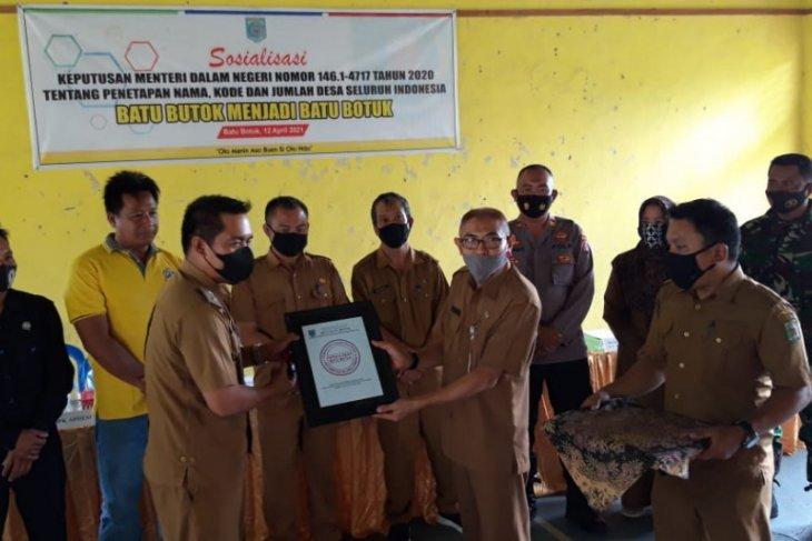 Kemendagri perbaiki kesalahan penulisan nama 5 desa di Paser