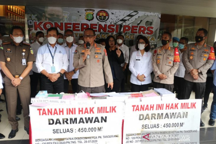 Dua mafia tanah di Kota Tangerang ditangkap polisi