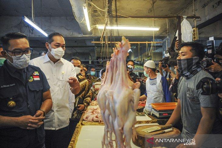 Kunjungan kerja Menteri Perdagangan di Bandung