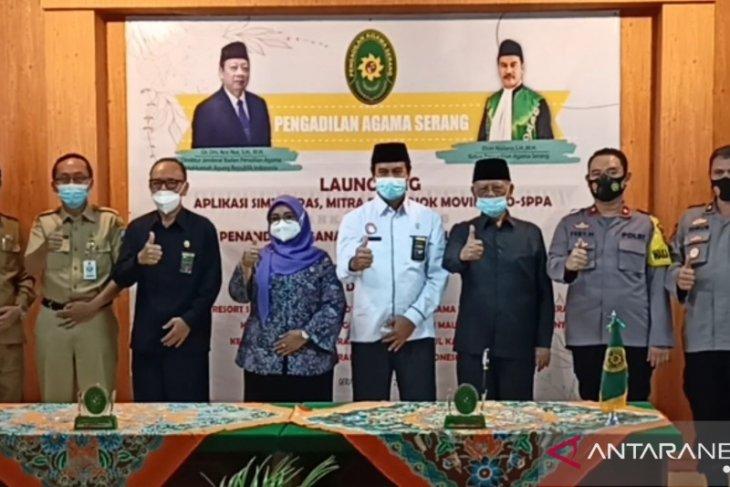 Pengadilan Agama Serang launching empat aplikasi permudah akses pelayanan saat pandemi