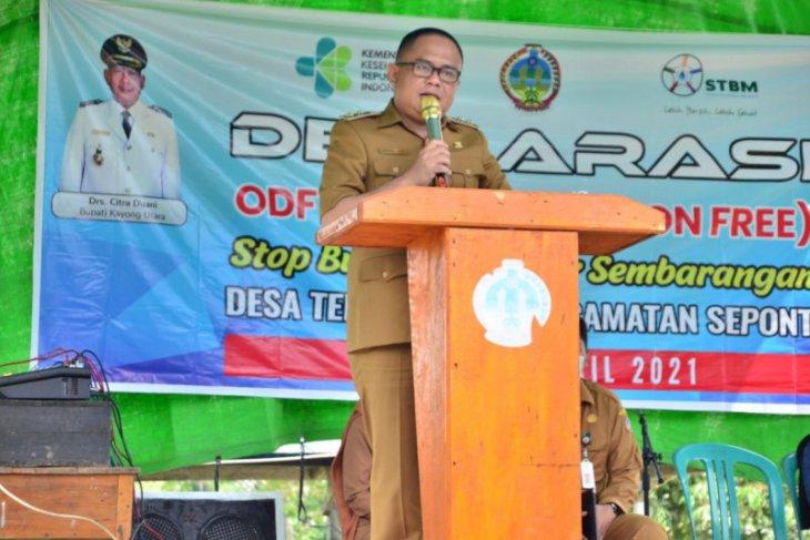 Wakil Bupati Kayong Utara ajak masyarakat budayakan hidup sehat