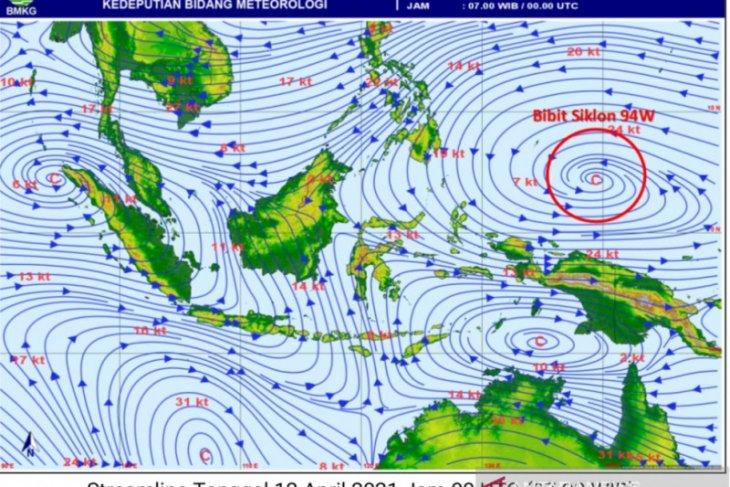 Siklon tropis di utara Papua, BMKG ingatkan ancaman banjir