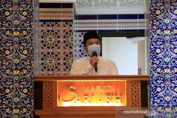 Wali Kota Arief ingatkan DKM terapkan prokes selama shalat tarawih