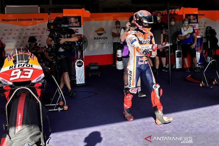 Lulus cek medis, Marquez dinyatakan fit untuk GP Portugal