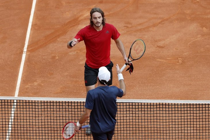 Tsitsipas singkirkan Karatsev dalam pertemuan perdana di Monte Carlo Masters