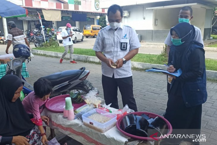 Awasi jajanan pangan BPOM uji puluhan sampel makanan di Balangan