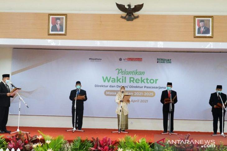 Rektor UMSurabaya lantik empat warek baru periode 2021-2025