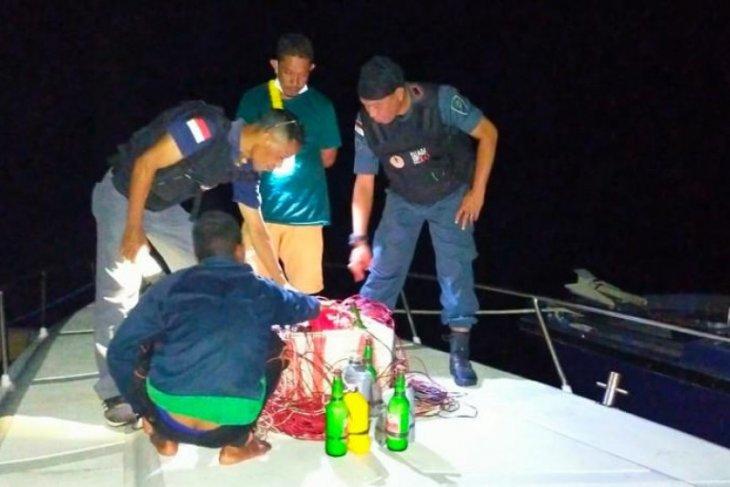 KLHK tahan lima nelayan gunakan bom ikan di TN  Komodo