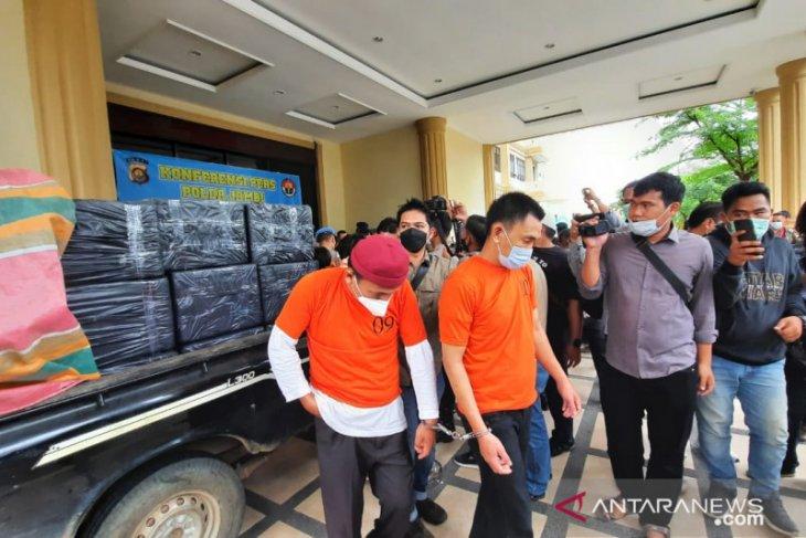 Satgas Benur Polda Jambi gagalkan penyelundupan 243.817 ekor benih lobster ke Singapura