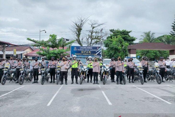 Polresta Pulau Ambon bentuk unit patroli aman ramadhan
