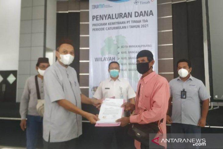 PT Timah salurkan Rp4,945 miliar bantu 119 UMKM Pulau Bangka