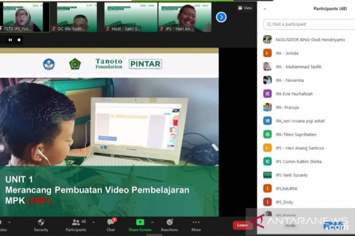 160 guru di Jambi ikuti pelatihan membuat video pembelajaran