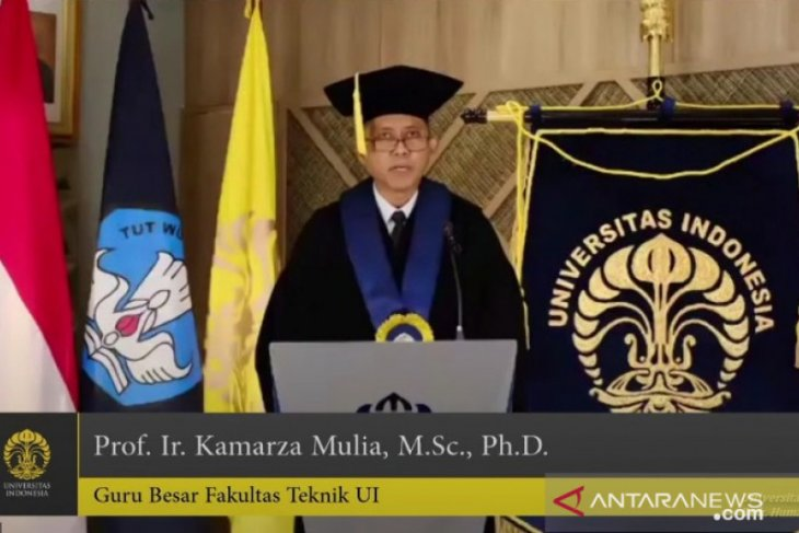 UI kukuhkan Prof. Kamarza Mulia sebagai guru besar ke-345