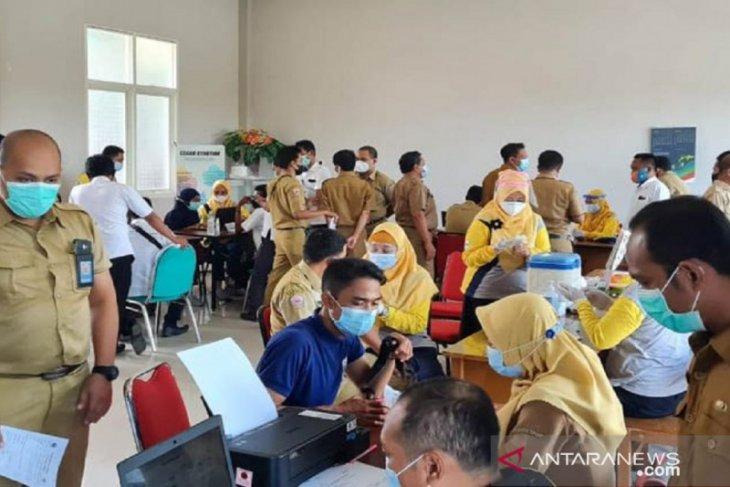 Pemkab Bangkalan percepat vaksinasi guru di tujuh kecamatan