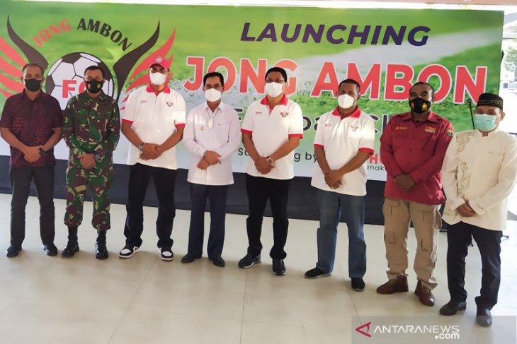 Jong Ambon FC resmi diluncurkan untuk kebangkitan sepak bola dari Ambon