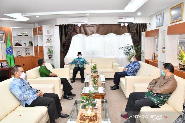 Bupati HSS terima silaturrahmi Kepala BPK Perwakilan Kalsel