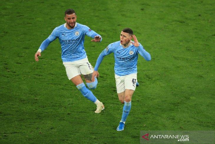 Man City melenggang ke semifinal usai gandakan agregat atas Dortmund