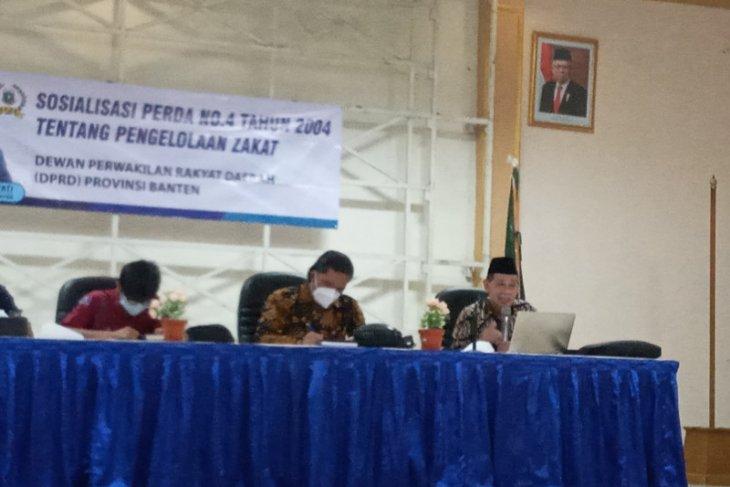 Pemprov Banten susun perda baru tentang pengelolaan zakat