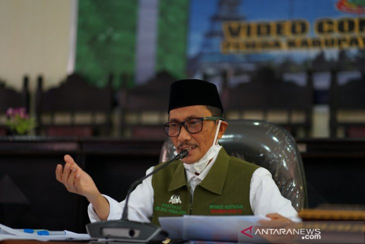 Bupati Gorontalo tindaklanjuti arahan Presiden Jokowi terkait COVID-19