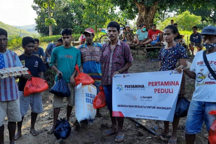 Pertamina Peduli salurkan bantuan di Sumba Timur