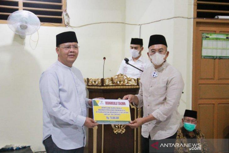 Pemprov Bengkulu komitmen perjuangkan tambahan penghasilan guru ngaji