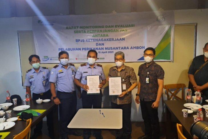 BPJamsostek  Maluku - PPN Ambon perpanjang PKS perlindungan tenaga kerja