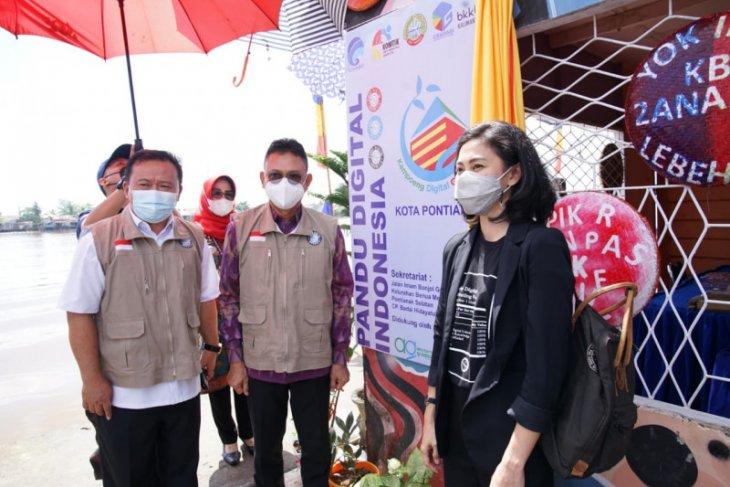 Wali Kota resmikan kampung digital di tepian Sungai Kapuas