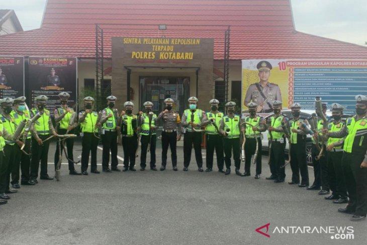 Satlantas Kotabaru tertibkan knalpot bising jaga kekhusukan Ramadhan